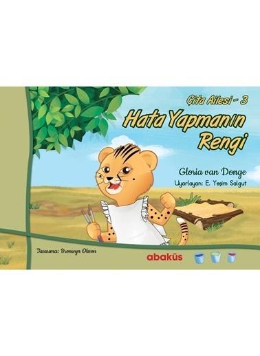 Morhipo kitap Çita Ailesi 3 - Hata Yapmanın Rengi Renkli